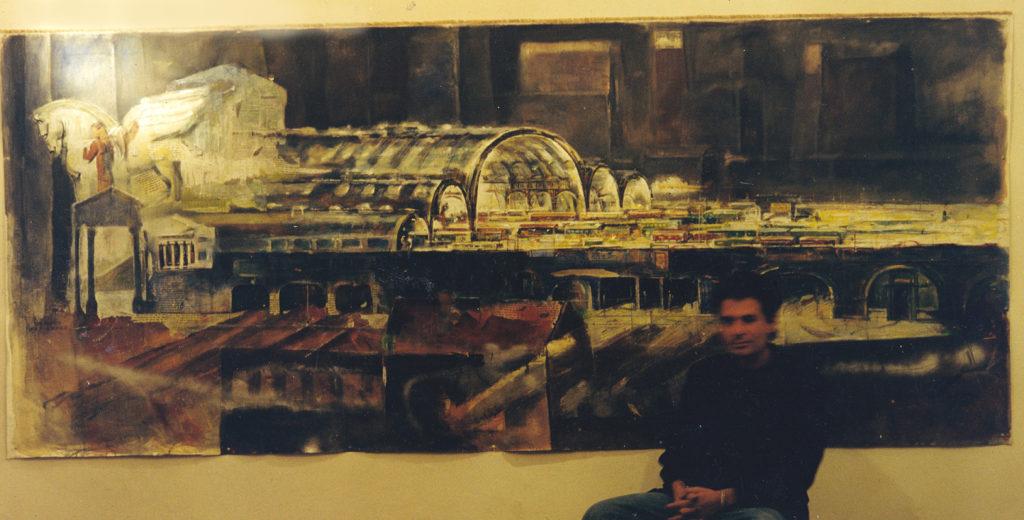 15 1999. stazione centrale con autore okk