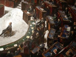 65 parlamento - particolare con berlusconi