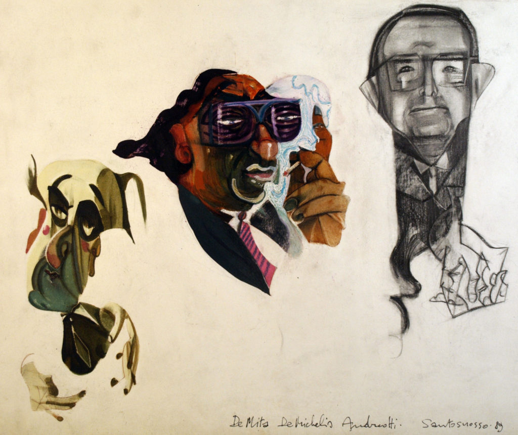 illustrazioni per i media, Fr. Santosuosso 1987-1992
