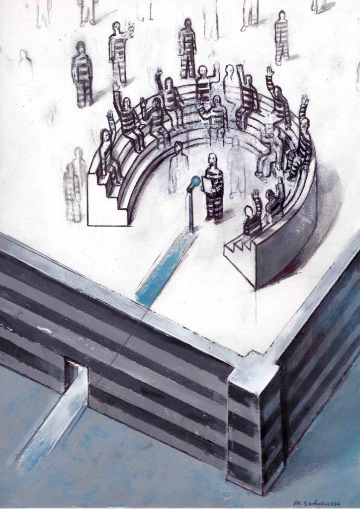 partecipazione e libertà. illustrazione