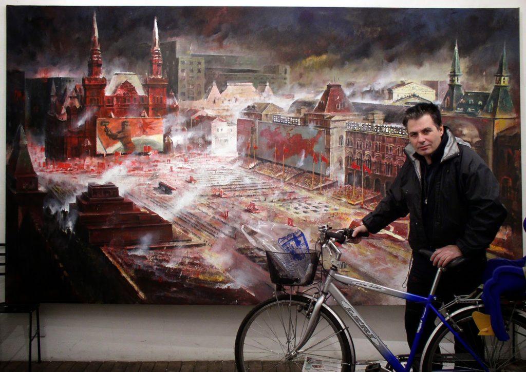 piazza-rossa-con-autore-bologna-artefiera-2005.