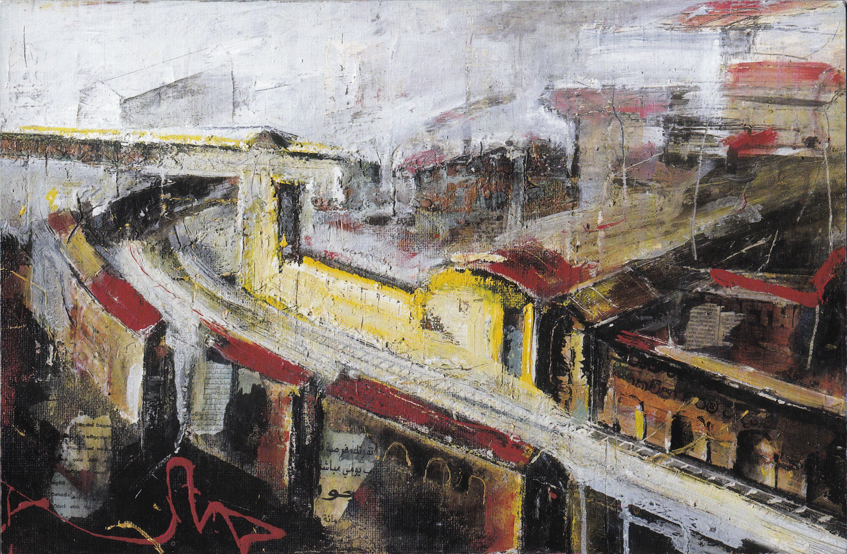 17 BOVISA,2001,tecnica mista su legno,cm43x70